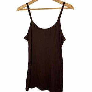 Banana Republic | Chocolate Brown Tank Top | L-XL